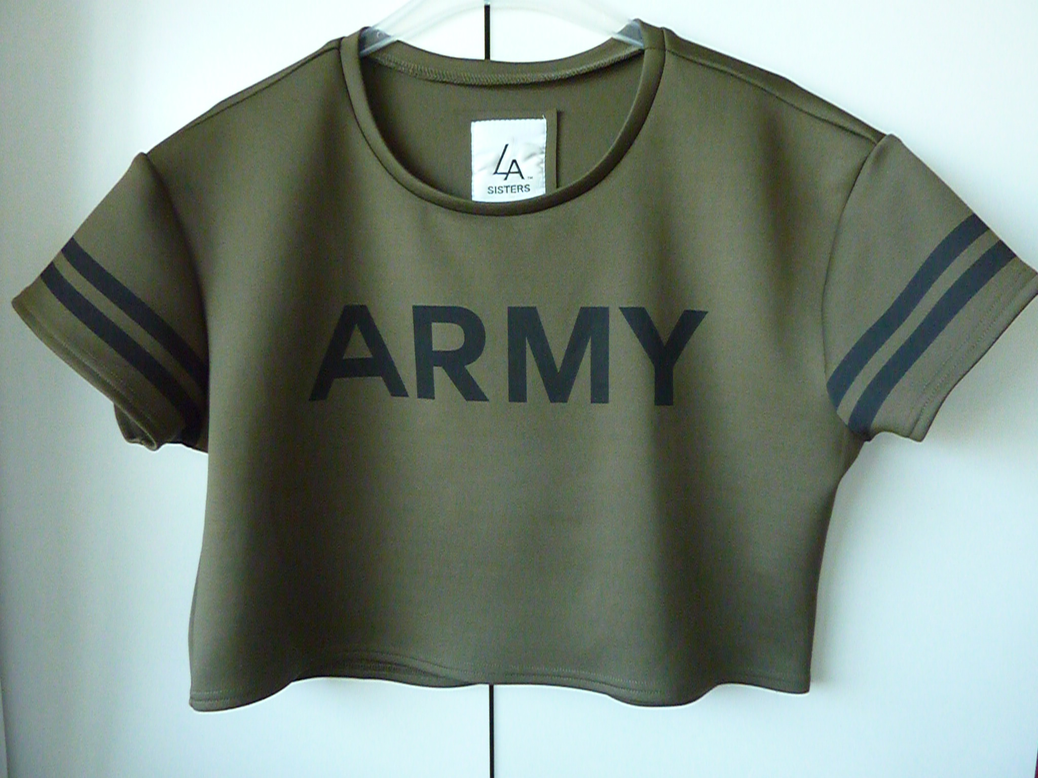 Army Crop Top